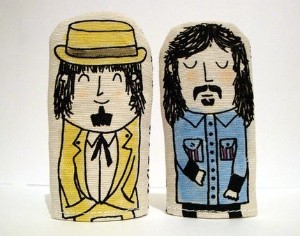 Frank and Don finger puppets