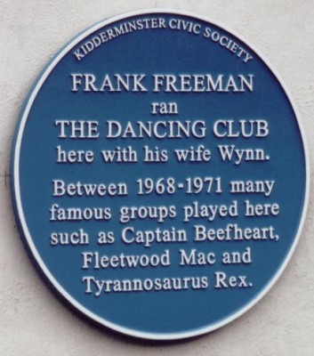 Frank Freeman plaque