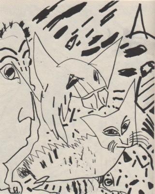 Sketch in Conjunctions #3 1982