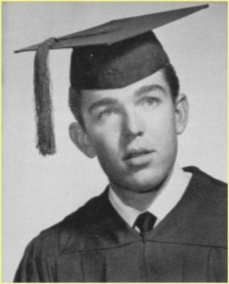 Don Vliet's graduation photograph