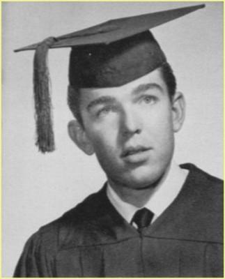 Don Vliet's graduation photograph