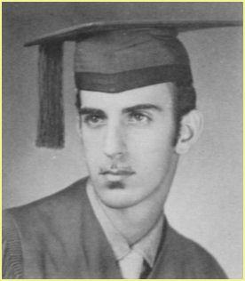 Frank Zappa's graduation photograph