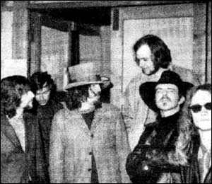 John Peel with Captain Beefheart