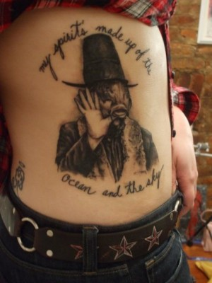 Trout Mask tattoo