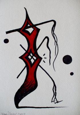 Victor Hayden - 2011 Gallery sale - ink 02
