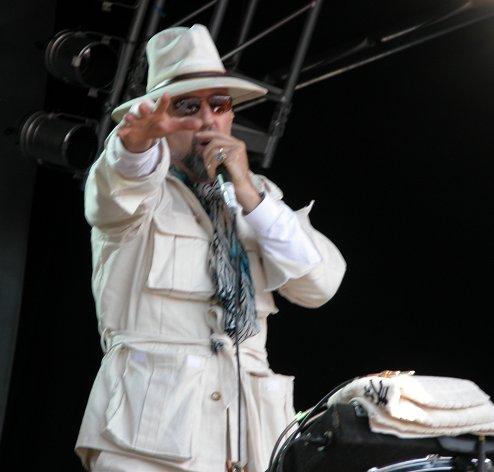 Magic Band live at Glastonbury 2004 - John French