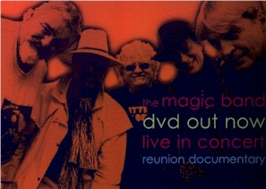 Postcard advert for the Magic Band DVD